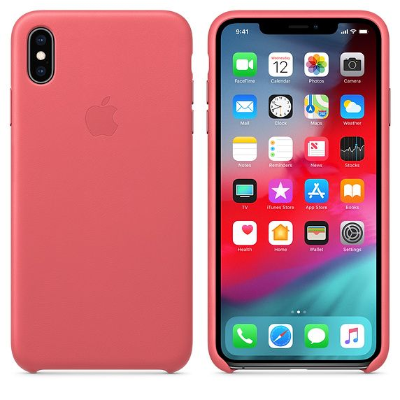 Custodia in Silicone Originale APPLE Per iPhone XS Max Back Cover