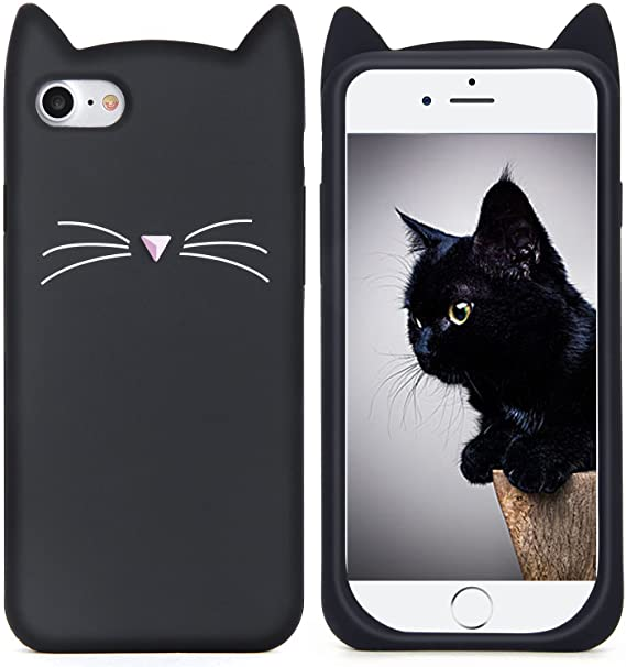 Cute Cat Phone custodia Cover Iphone 6 6s