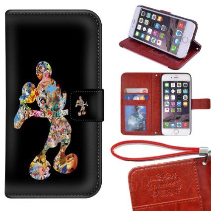 Disney Wallet Cell Phone Cover custodia