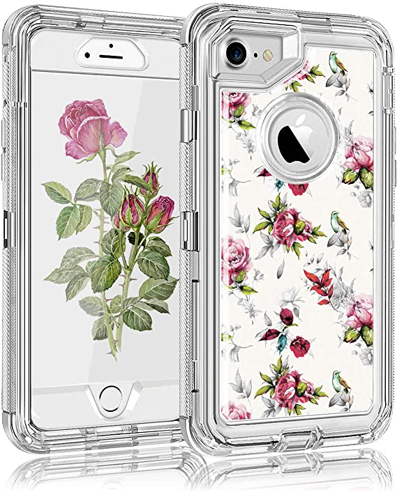 Elegant Rose Flower Iphone 6 custodias