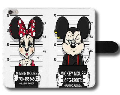 Funny Minnie Mouse Disney Phone custodia