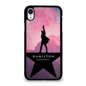 coque custodia cover fundas iphone 11 pro max 5 6 7 8 plus x xs xr se2020 C20535 HAMILTON AN AMERICAN MUSICAL 2 iPhone XR Case
