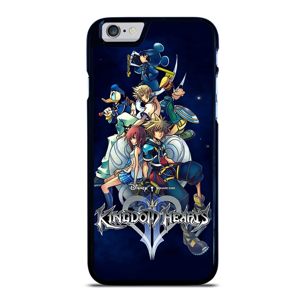 coque custodia cover fundas iphone 11 pro max 5 6 7 8 plus x xs xr se2020 C23269 KINGDOM HEARTS DISNEY iPhone 6 / 6S Case