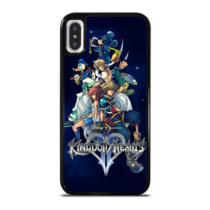 coque custodia cover fundas iphone 11 pro max 5 6 7 8 plus x xs xr se2020 C23273 KINGDOM HEARTS DISNEY iPhone X / XS Case