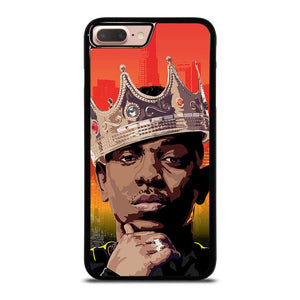 coque custodia cover fundas iphone 11 pro max 5 6 7 8 plus x xs xr se2020 C23239 KING KENDRICK LAMAR iPhone 7 / 8 Plus Case