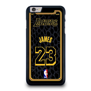 coque custodia cover fundas iphone 11 pro max 5 6 7 8 plus x xs xr se2020 C23992 LEBRON JAMES LA LAKERS 1 iPhone 6 / 6S Plus Case