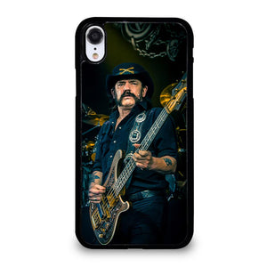coque custodia cover fundas iphone 11 pro max 5 6 7 8 plus x xs xr se2020 C24069 LEMMY KILMISTER MOTORHEAD BASS #1 iPhone XR Case