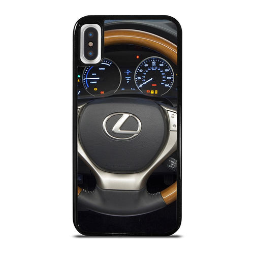 coque custodia cover fundas iphone 11 pro max 5 6 7 8 plus x xs xr se2020 C24189 LEXUS STEERING WHEEL iPhone X / XS Case