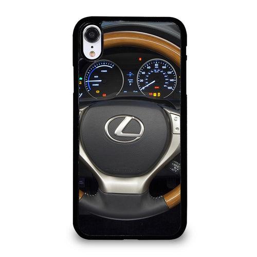 coque custodia cover fundas iphone 11 pro max 5 6 7 8 plus x xs xr se2020 C24190 LEXUS STEERING WHEEL iPhone XR Case