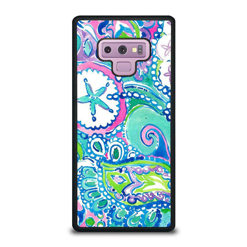coque custodia cover fundas hoesjes j3 J5 J6 s20 s10 s9 s8 s7 s6 s5 plus edge D31990 LILLY PULITZER STAR Samsung Galaxy Note 9 Case