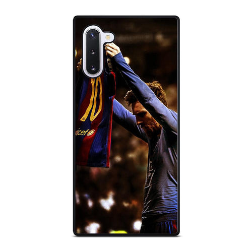 coque custodia cover fundas hoesjes j3 J5 J6 s20 s10 s9 s8 s7 s6 s5 plus edge D32155 LIONEL MESSI #5 Samsung Galaxy Note 10 Case