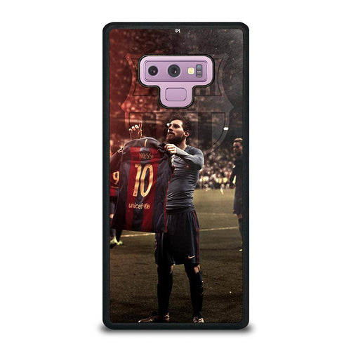 coque custodia cover fundas hoesjes j3 J5 J6 s20 s10 s9 s8 s7 s6 s5 plus edge D32176 LIONEL MESSI #6 Samsung Galaxy Note 9 Case