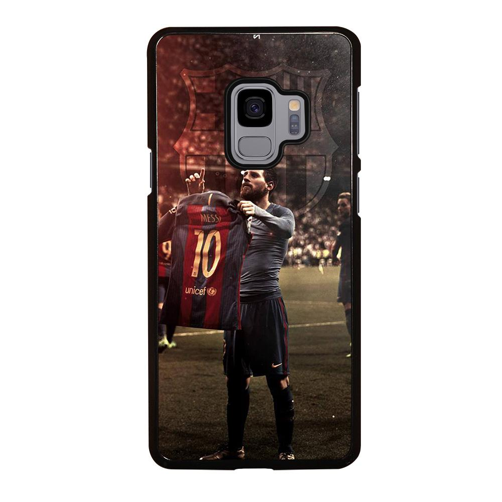 coque custodia cover fundas hoesjes j3 J5 J6 s20 s10 s9 s8 s7 s6 s5 plus edge D32188 LIONEL MESSI #6 Samsung Galaxy S9 Case