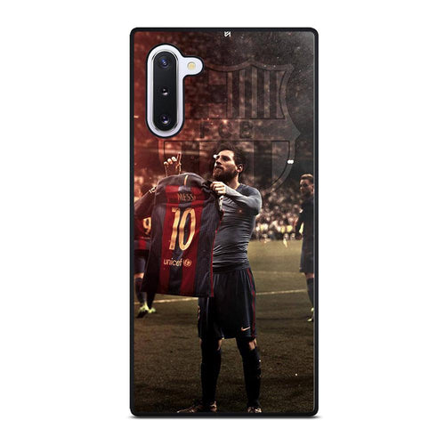 coque custodia cover fundas hoesjes j3 J5 J6 s20 s10 s9 s8 s7 s6 s5 plus edge D32172 LIONEL MESSI #6 Samsung Galaxy Note 10 Case