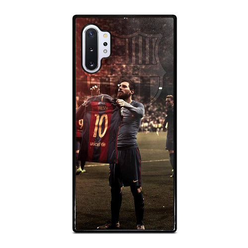 coque custodia cover fundas hoesjes j3 J5 J6 s20 s10 s9 s8 s7 s6 s5 plus edge D32173 LIONEL MESSI #6 Samsung Galaxy Note 10 Plus Case