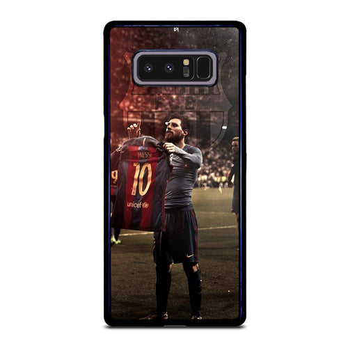 coque custodia cover fundas hoesjes j3 J5 J6 s20 s10 s9 s8 s7 s6 s5 plus edge D32175 LIONEL MESSI #6 Samsung Galaxy Note 8 Case