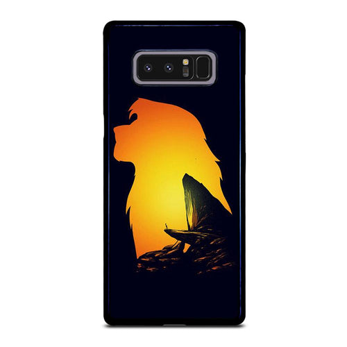 coque custodia cover fundas hoesjes j3 J5 J6 s20 s10 s9 s8 s7 s6 s5 plus edge D32122 LION KING PRIDE ROCK Samsung Galaxy Note 8 Case