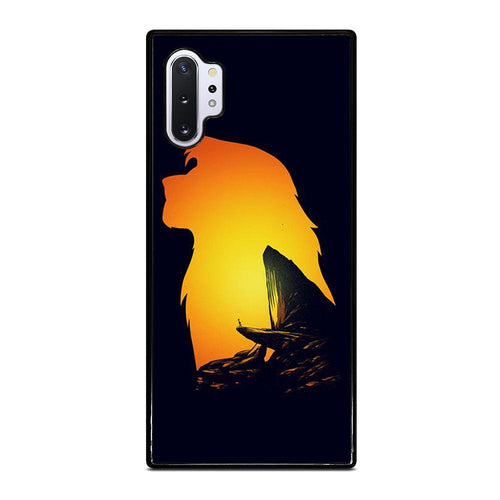 coque custodia cover fundas hoesjes j3 J5 J6 s20 s10 s9 s8 s7 s6 s5 plus edge D32120 LION KING PRIDE ROCK Samsung Galaxy Note 10 Plus Case