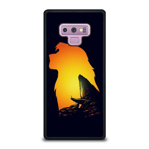 coque custodia cover fundas hoesjes j3 J5 J6 s20 s10 s9 s8 s7 s6 s5 plus edge D32123 LION KING PRIDE ROCK Samsung Galaxy Note 9 Case