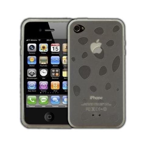 LOGOTRANS - Phaser Series Custodia in silicone per Apple iPhone 4