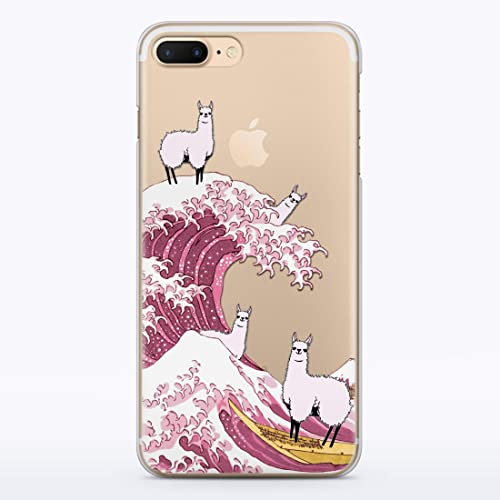 Llama iPhone 6 Plus custodia iPhone 7 custodia