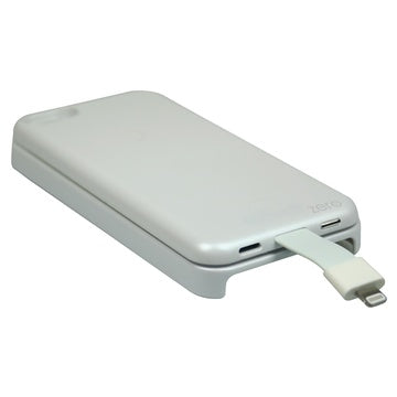 MEDIACOM POWER BANK 2800 MAH CUSTODIA IPHONE 5 5S BIANCO M-ZPB28W