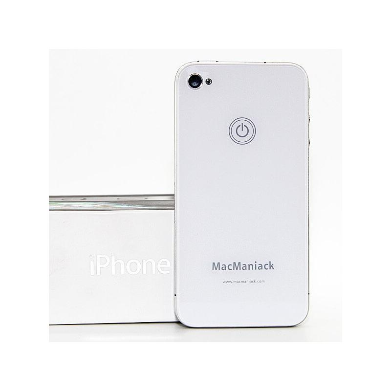 MacManiack Replacement Back Cover iPhone 4S White - Macmaniack