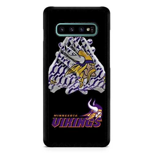 Minnesota Vikings W4905 Casing custodia cover Samsung Galaxy S10  Premium