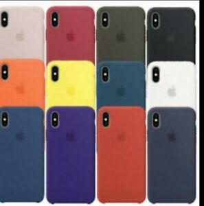 ORIGINALEE SILICONE SOTTILE Custodia Cover per for Apple iPhone XS