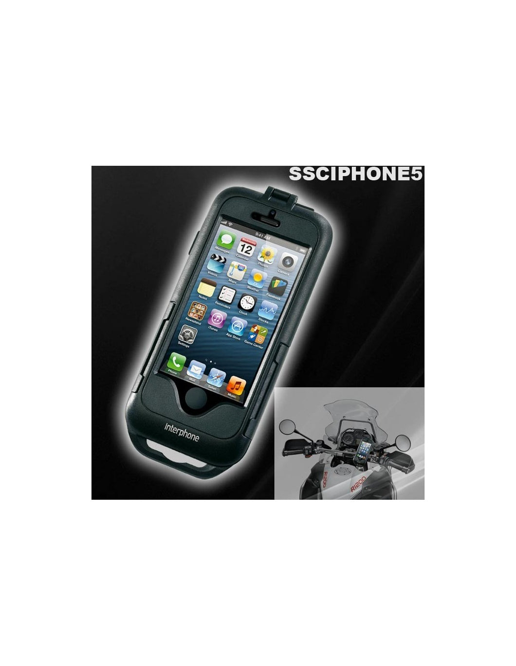 SMIPHONE5 CUSTODIA SUPPORTO PER IPHONE 5S/5 PER MOTO E BICI