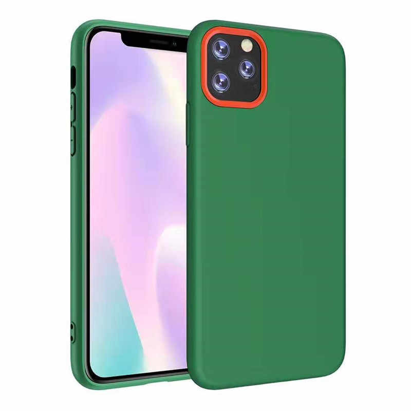 Thin Soft Case For iPhone 11 Original Liquid Silicone Cover Candy