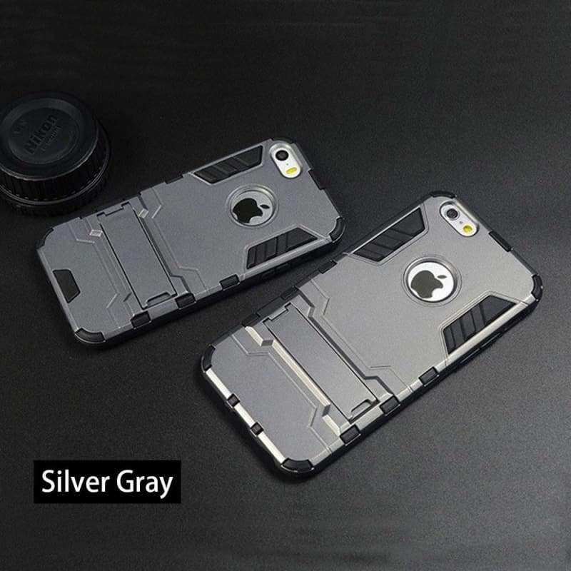 Ultra-Slim Protective Dual Layer Defender Case Cover iPhone Cases