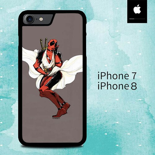 Deadpool Marilyn Monroe O3162 custodia cover iPhone 7 , iPhone 8