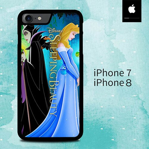 Disney Sleeping beauty O3198 custodia cover iPhone 7 , iPhone 8