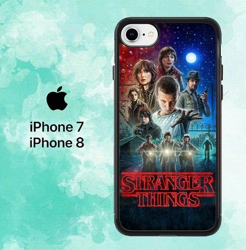 stranger things season 3 Z4484  custodia cover iPhone 7 , iPhone 8