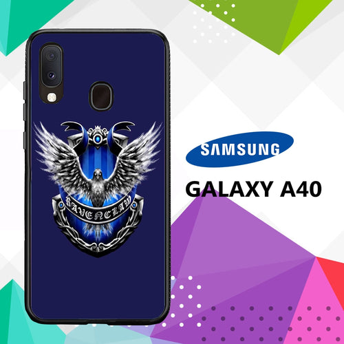 cover custodia case samsung galaxy a40 B5627 ravenclaw wallpaper 51vD9