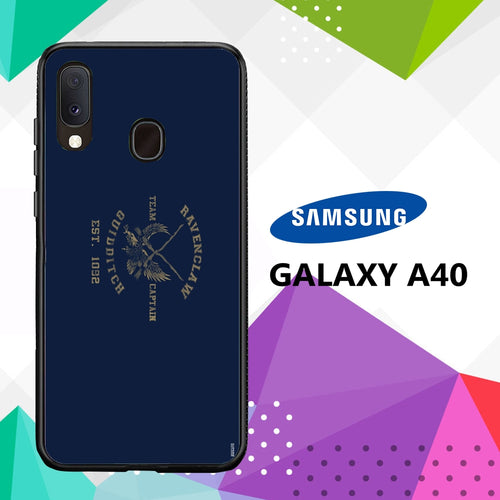 cover custodia case samsung galaxy a40 N3772 ravenclaw wallpaper 51wD5