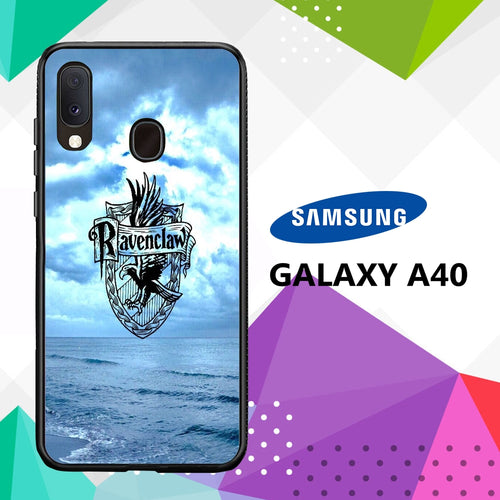 cover custodia case samsung galaxy a40 S1475 ravenclaw wallpaper 51iC1