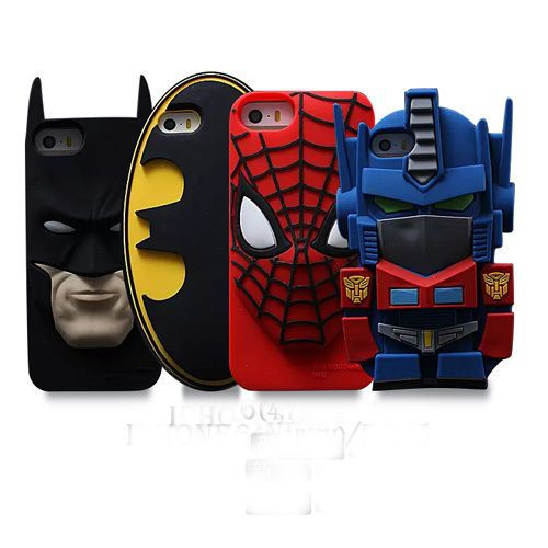 cover custodia IPHONE 5 5S SUPERMAN CON MANTELLO 3D