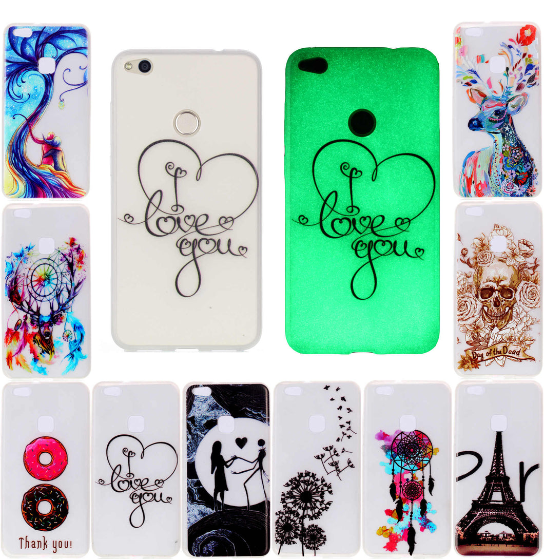 cover huawei p8 lite fluo
