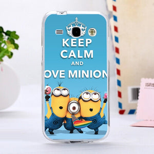 cover samsung core plus minions