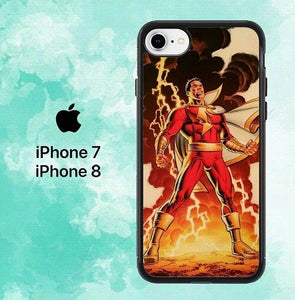Shazam Angry L2892  custodia cover iPhone 7 , iPhone 8
