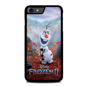 FROZEN II Olaf W9357 custodia cover iPhone 7 , iPhone 8