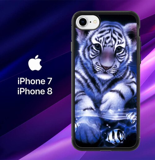 Baby Tiger Y1521  custodia cover iPhone 7 , iPhone 8