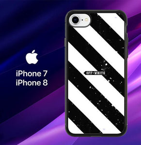 OFF-WHITE BOX LOGO E1656 custodia cover iPhone 7 , iPhone 8