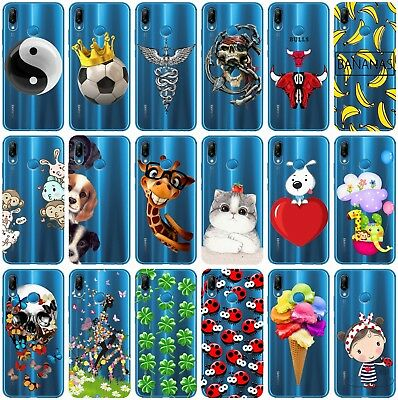 CUSTODIA COVER MORBIDA TRASPARENTE IN TPU PER HUAWEI P SMART FANTASIA T