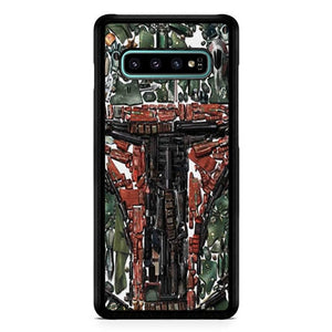 Star Wars Bobba V0517 Casing custodia cover Samsung Galaxy S10  Premium