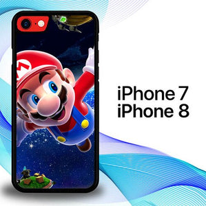 Super Mario P0936 custodia cover iPhone 7 , iPhone 8