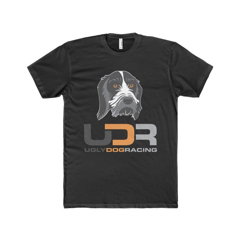 UDR Men's Premium Fitted Short-Sleeve Crew Neck T-Shirt
