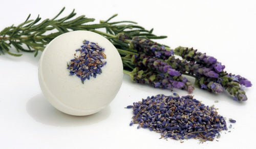 Lavender Flower Bath Bomb - ECNSoap